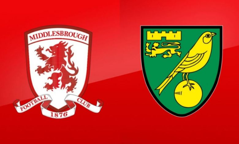 Prediksi Bola Jitu: Middlesbrough vs Norwich City 21 November 2020 - dewaprediksibola