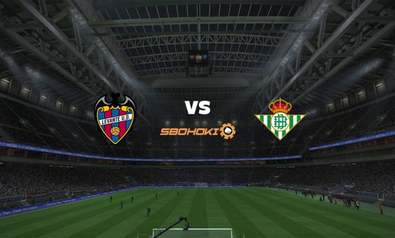 Live Streaming  Levante vs Real Betis 29 Desember 2020 - dewaprediksibola