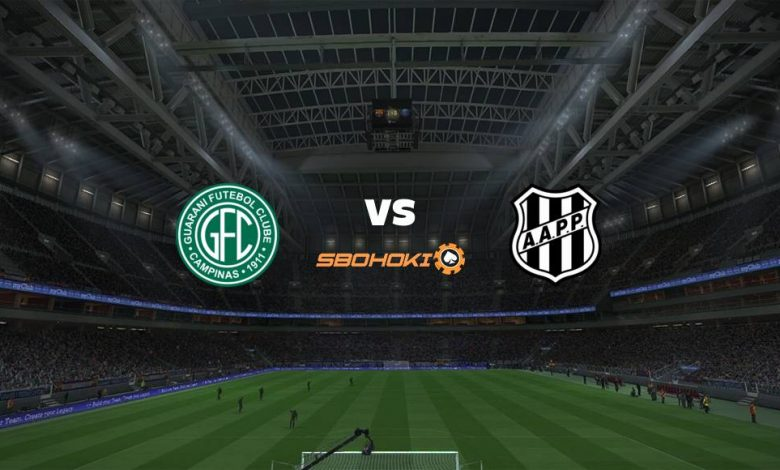 Live Streaming  Guarani vs Ponte Preta 5 Januari 2021 - dewaprediksibola