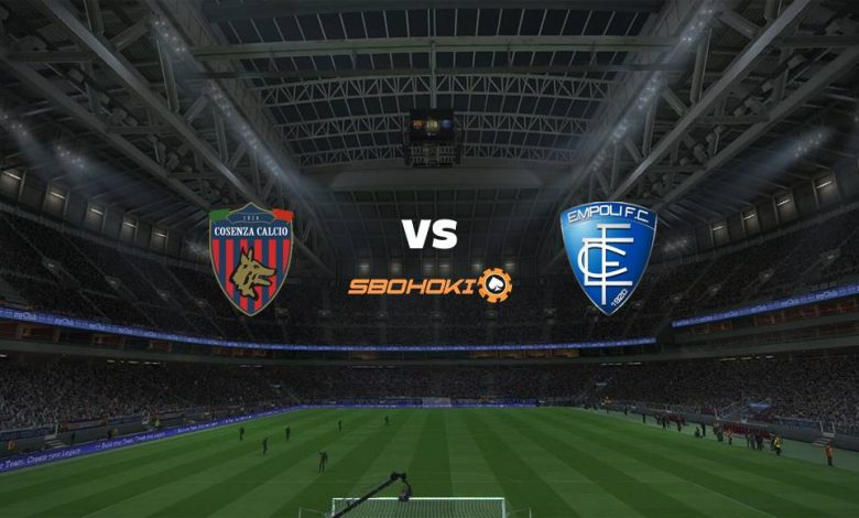 Live Streaming  Cosenza vs Empoli 4 Januari 2021 - dewaprediksibola
