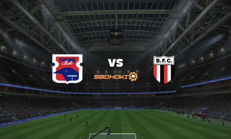 Live Streaming Paraná vs Botafogo SP 4 Januari 2021 - dewaprediksibola