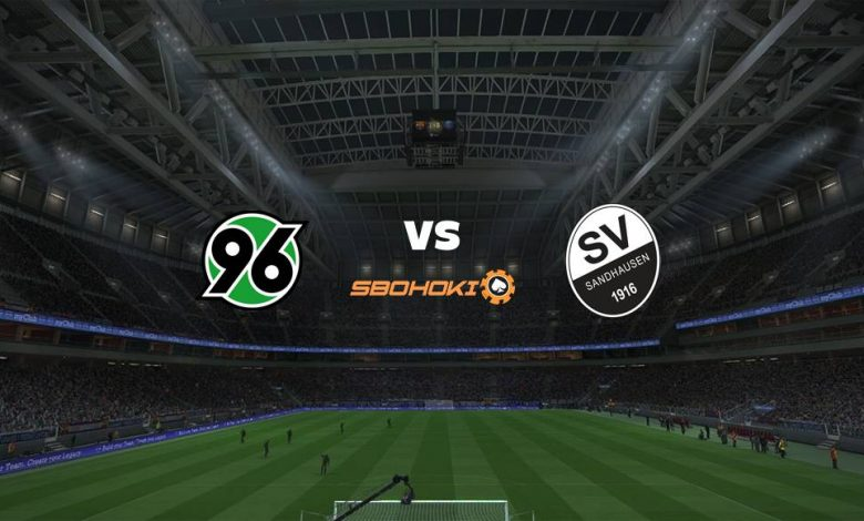 Live Streaming  Hannover 96 vs SV Sandhausen 3 Januari 2021 - dewaprediksibola