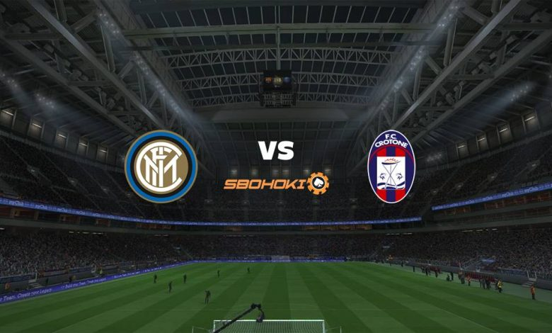 Live Streaming  Inter Milan vs Crotone 3 Januari 2021 - dewaprediksibola