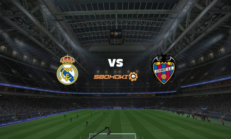 Live Streaming  Real Madrid vs Levante 30 Januari 2021 - dewaprediksibola