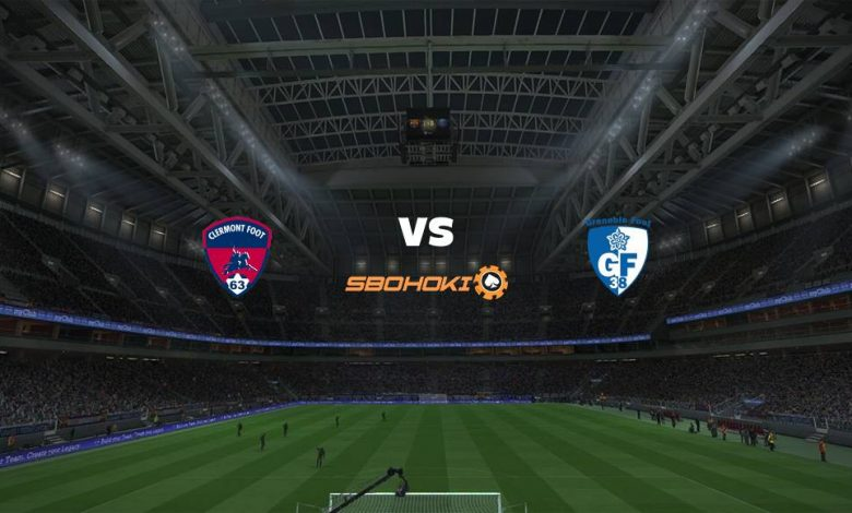 Live Streaming  Clermont Foot vs Grenoble 5 Januari 2021 - dewaprediksibola