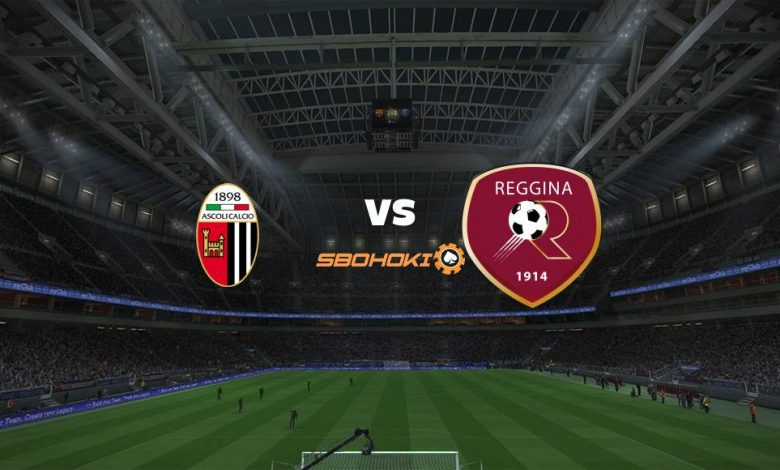 Live Streaming  Ascoli vs Reggina 4 Januari 2021 - dewaprediksibola