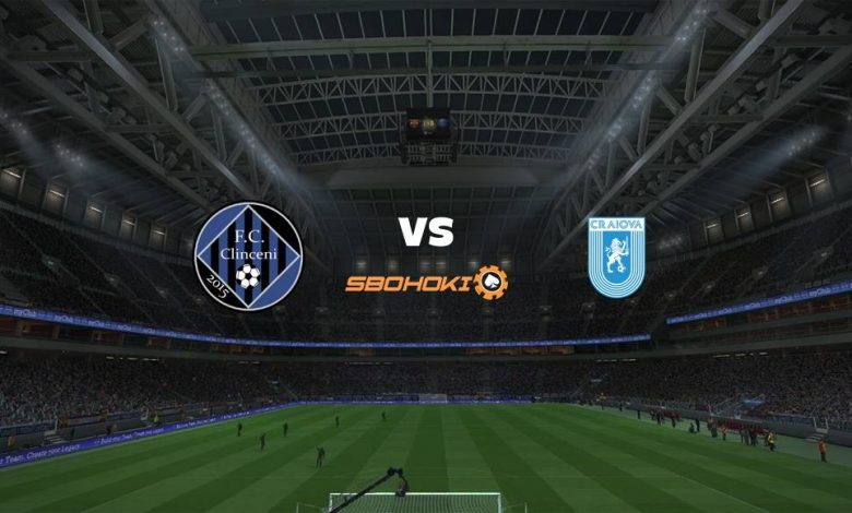 Live Streaming Academica Clinceni vs Universitatea Craiova 14 Februari 2021 - dewaprediksibola