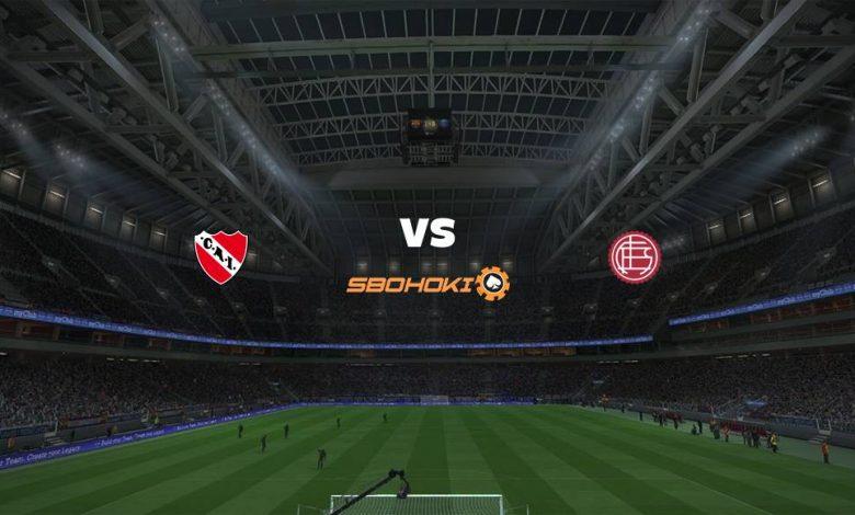Live Streaming  Independiente vs Lanús 16 Februari 2021 - dewaprediksibola