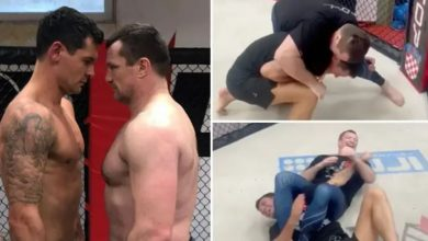 Photo of Mantan Bek Liverpool Latihan UFC, Beralih Profesi Baru?