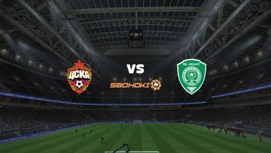 Photo of Live Streaming  CSKA Moscow vs Akhmat Grozny 8 Maret 2021