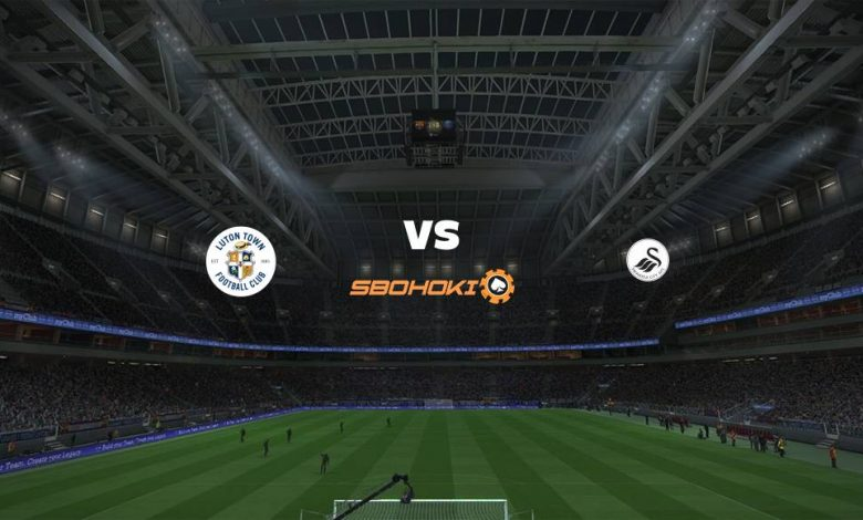 Live Streaming  Luton Town vs Swansea City 13 Maret 2021 - dewaprediksibola