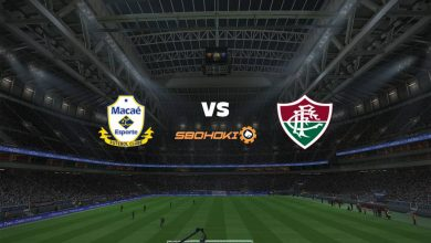 Photo of Live Streaming  Macaé vs Fluminense 7 April 2021
