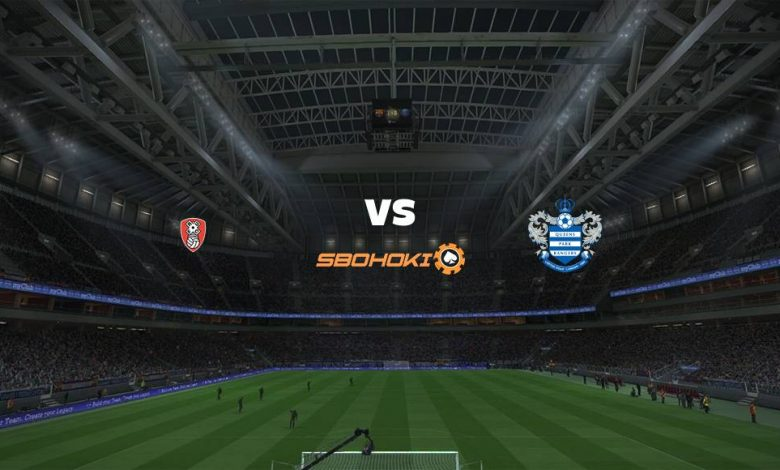 Live Streaming Rotherham United vs Queens Park Rangers 13 April 2021 - dewaprediksibola