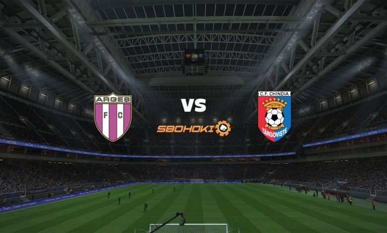 Live Streaming  FC Arges vs Chindia Targoviste 9 April 2021 - dewaprediksibola