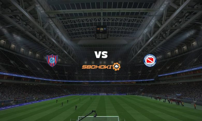 Live Streaming San Lorenzo vs Argentinos Juniors 17 April 2021 - dewaprediksibola